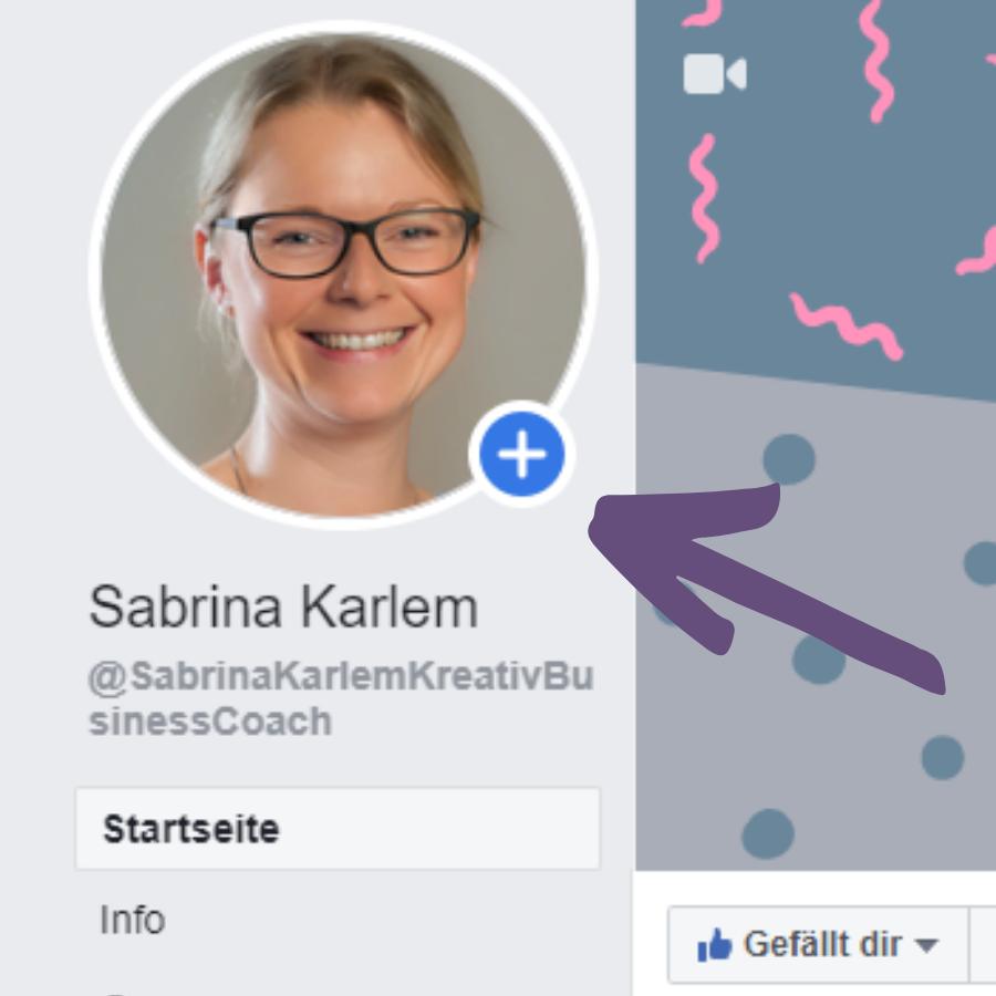 Facebook Story erstellen