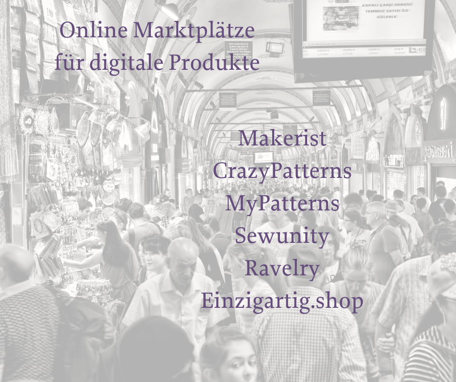 Online Marktplatz für digitale Produkte