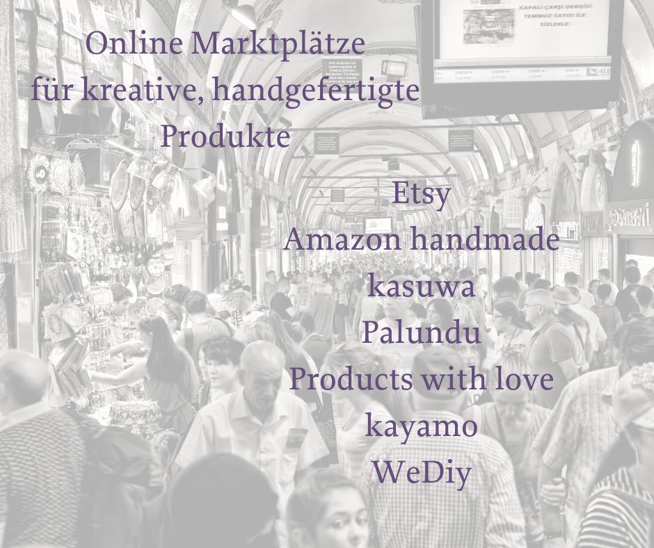 Online-Marktplatz für kreative DIY Produkte